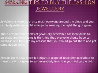 Tips to Buy the Fashion Jewellery