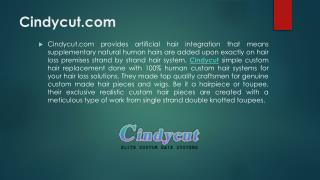 Cindycut Professional Custom Hair Systems