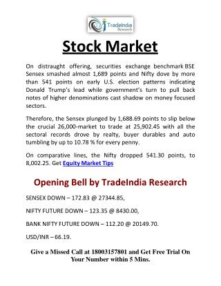 Stock Commodity Market News by TradeIndia Research
