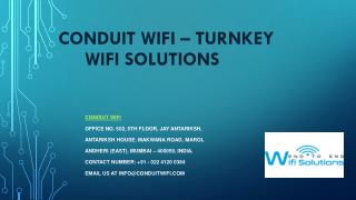 Business WiFi Solutions | Tunrkey WiFi Deployment Services