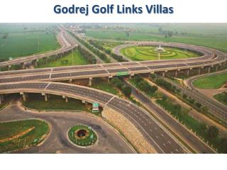 Godrej Golf Links - Greater Noida New Villas Information