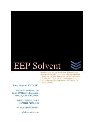 EEP Solvent