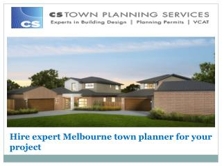 Find best Melbourne town planner