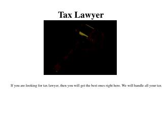 Criminal Tax Lawyer in Miami
