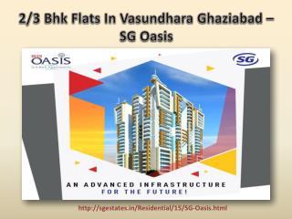 2/3 Bhk Flats in Vasundhara Ghaziabad