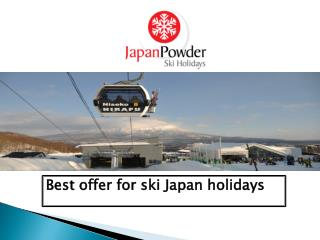 Top Ski Resorts in Japan
