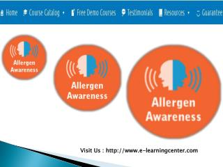 Allergen Awareness Programme