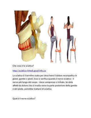 Infiammazione Nervo Sciatico, Dolore Al Gluteo Destro Posizione Seduta, Nervo Sciatico Gravidanza
