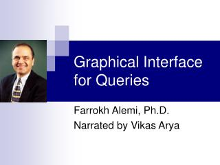 Graphical Interface for Queries