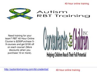 40-hour online training