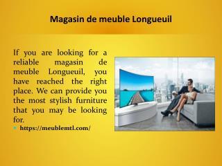 Magasin de meuble Longueuil