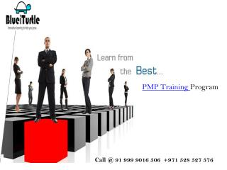 Get Pass with Best PMP Training Program Class