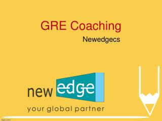 GRE Training, Best GRE Coaching Institutes, GRE Training Institutes - Newedgecs