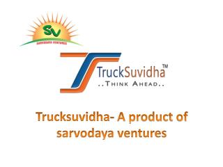 How To Use Your Registered Account with TruckSuvidha??