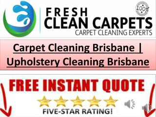 Carpet Cleaning Brisbane | Upholstery�Cleaning Brisbane
