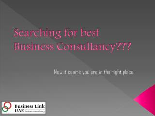 Best Business Consultancy