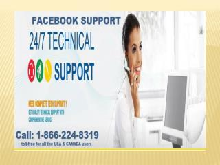 Avoid staying stuck with your Facebook when Facebook Support is avail @ 1-866-224-8319