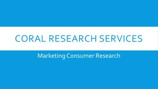 How Marketing Consumer Research can help in Brand Development