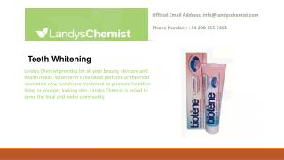 Teeth Whitening - Oral Hygiene - Toiletries - Shop By Department