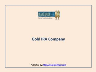 Gold IRA Company