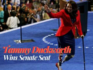 Tammy Duckworth wins Senate seat