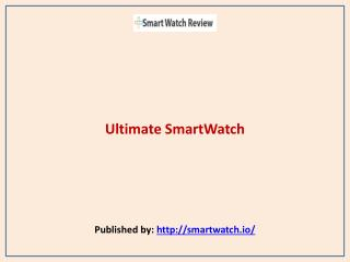 Ultimate SmartWatch