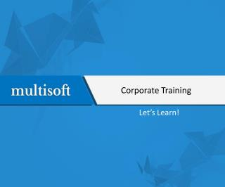 Corporate Training online training