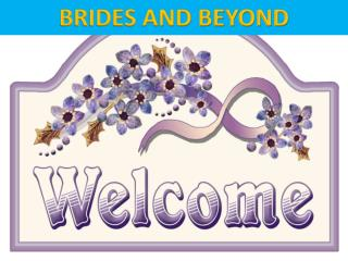 Bridesandbeyond.us, the most popular bridal store Seattle
