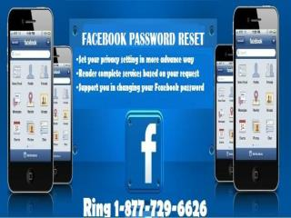 Dial Forgot Facebook Password 1-877-729-6626 for getting the specialized  assistance