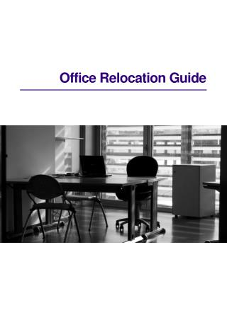 Office Relocation Guide