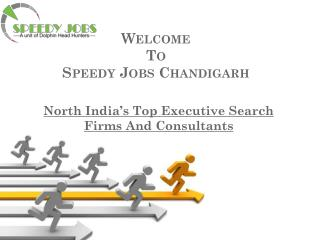 Speedy Jobs - best job consultants in chandigarh