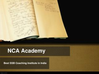 Best SSB Coaching Institutes in India
