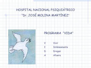 HOSPITAL NACIONAL PSIQUI TRICO  Dr. JOS  MOLINA MART NEZ