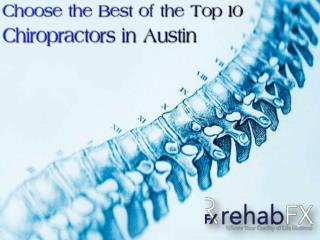 Top 10 Chiropractors in Austin