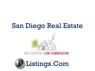 San Diego Real Estate Market�