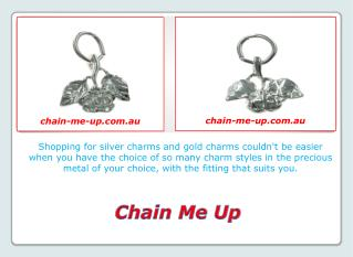 Solid Silver Charms made in Australia