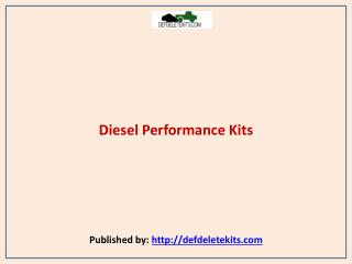 Def Delete Kits-Diesel Performance Kits