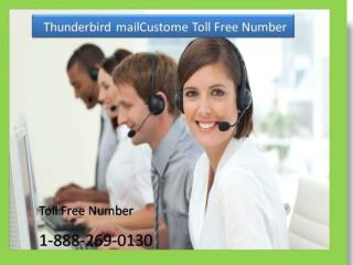 Thunderbird email 1-888-269-0130 Technical Support Number