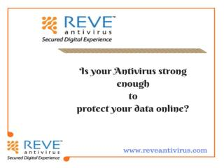 Antivirus protection | REVE Antivirus