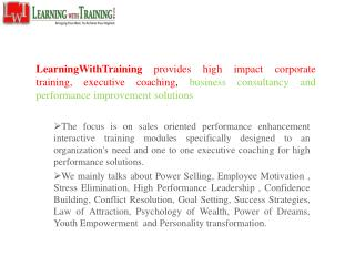 Sales Training In Delhi