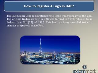 How To Register A Logo In UAE?