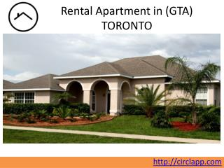 Apartments | Find a House for rent in Toronto (GTA) | CIRCL