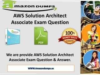AWS Solution Architect Associate Exam Dumps | AmazonDumps