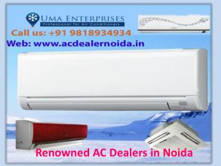 Get Coolest AC from AC dealers in Noida Call 9818934934