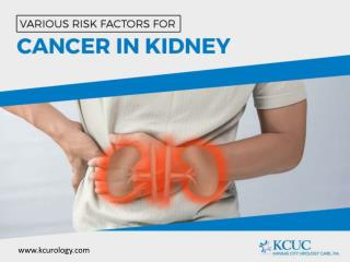 Cancer of the Kidney – Risk Factors