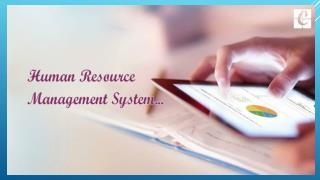 Odoo HR management