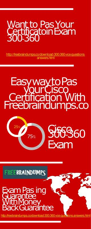 Freebraindumps Exam Dumps 300-360