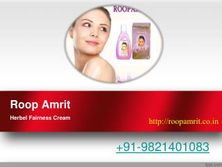 Roop Amrit Fairness Cream