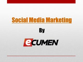 Ecumen�s result-oriented social media marketing services