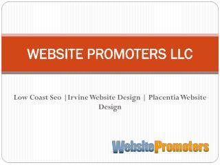 Irvine Website Design - websitepromoters.com
